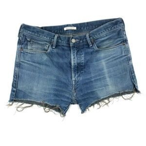 Levi's Made & Crafted Cutoff Denim Shorts 34